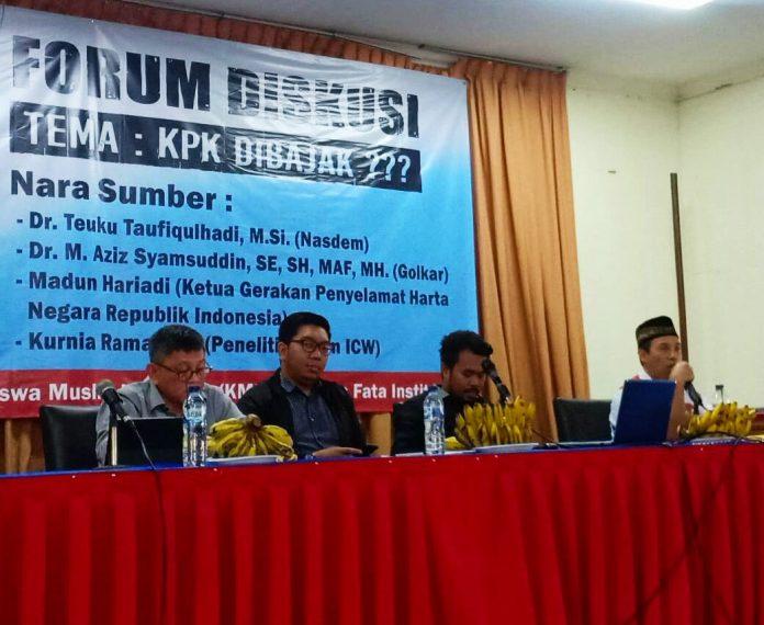 Photo of KPK Sudah Dilemahkan Itu Provokasi Menyesatkan