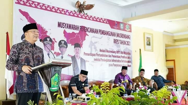 Photo of Hadiri Musrenbang Lebong, Gubernur Rohidin Ingatkan Gheothermal Lebong Sangat Potensial Hasilkan Energi Terbarukan