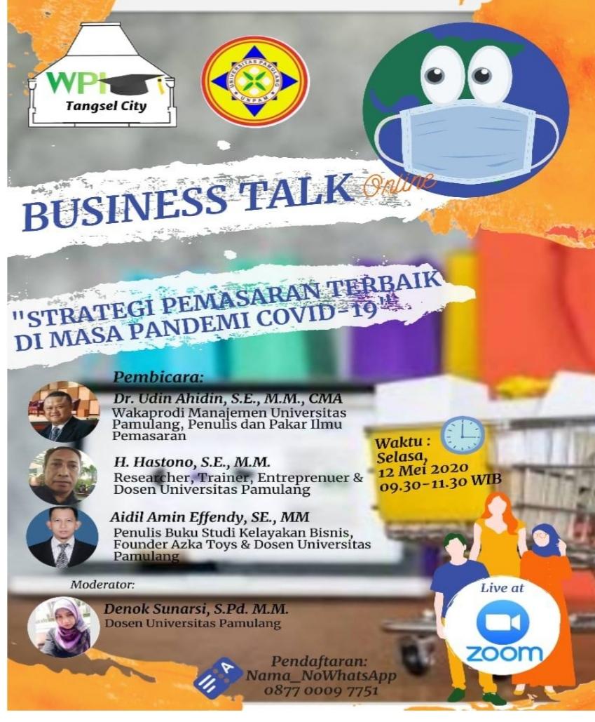 Photo of Business Talk: Langkah Buka Usaha Ditengah Resesi