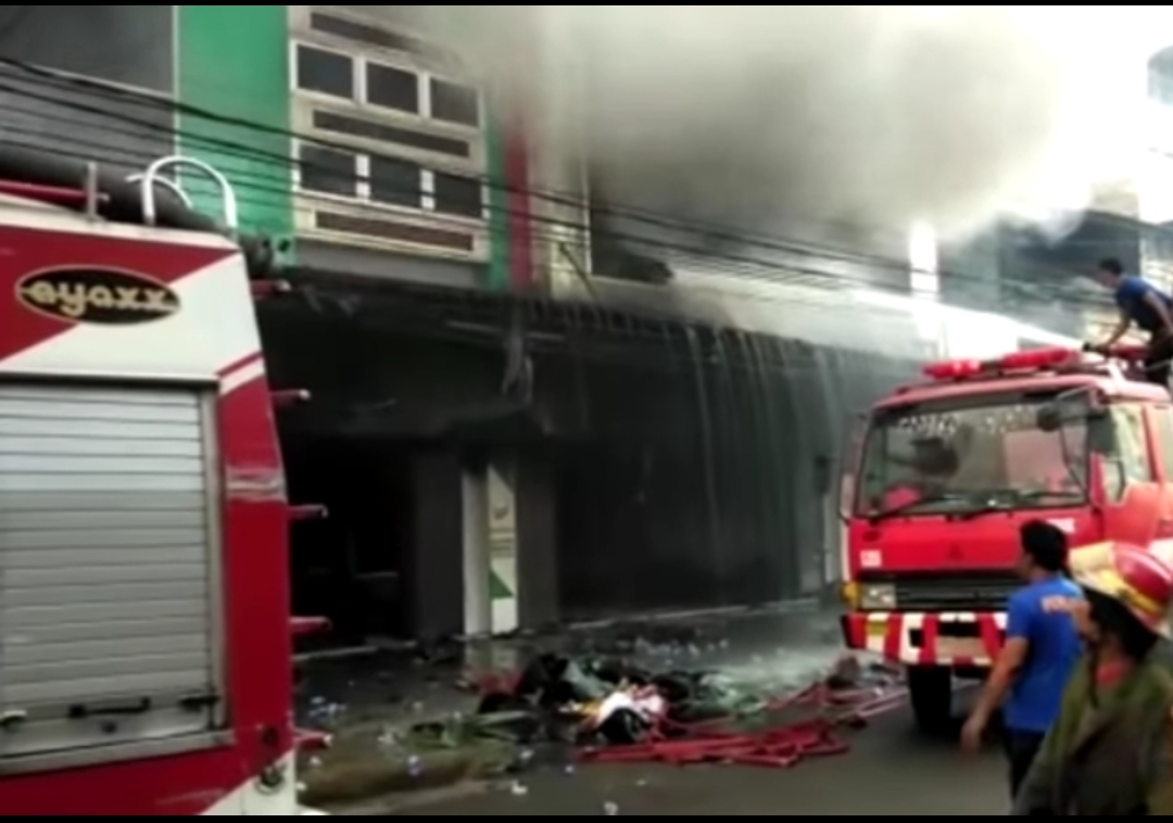 Photo of Paska Swalayan Irian Tamora Terbakar, Pemkab Belum Tanggapi Tentang Izin Bangunan