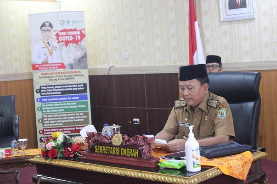 Photo of Sekdaprov Buka Webinar Kepustakawan