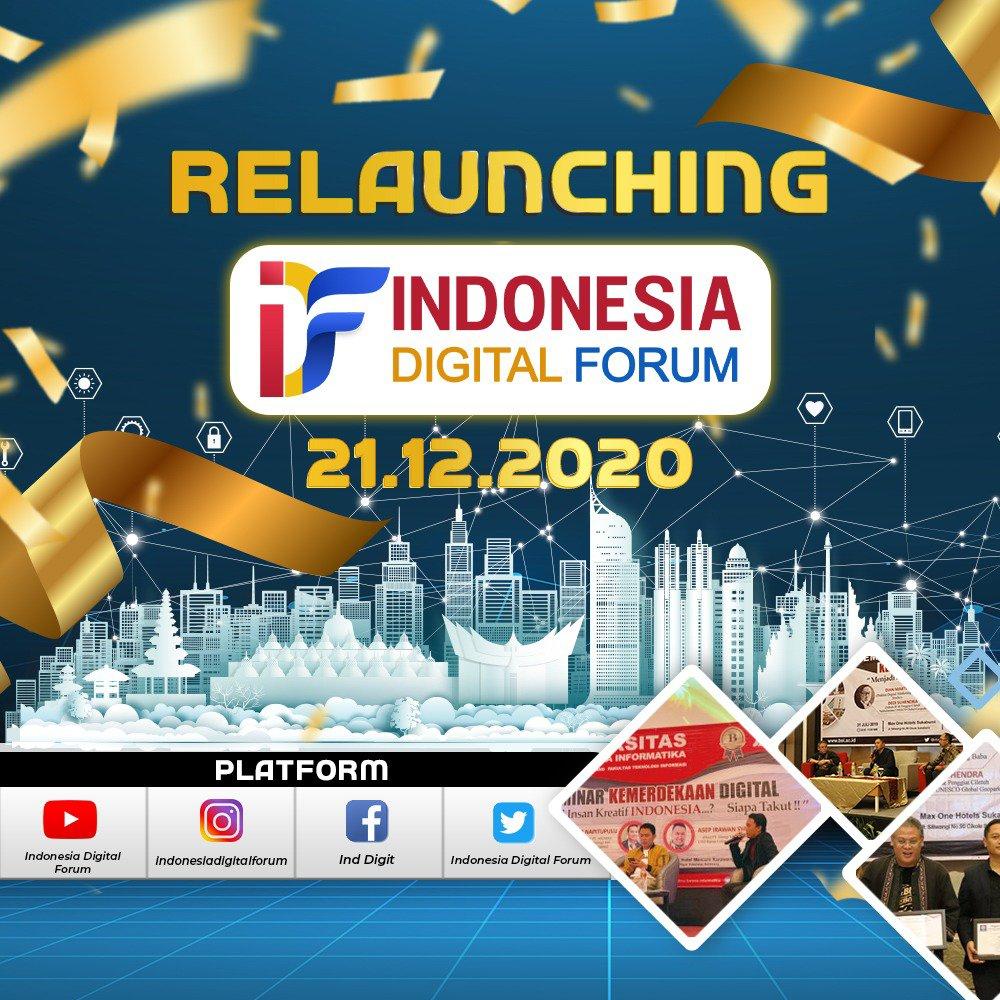 Photo of Kepedulian Terhadap Kemajuan Digital, Indonesia Digital Forum Re-Launching