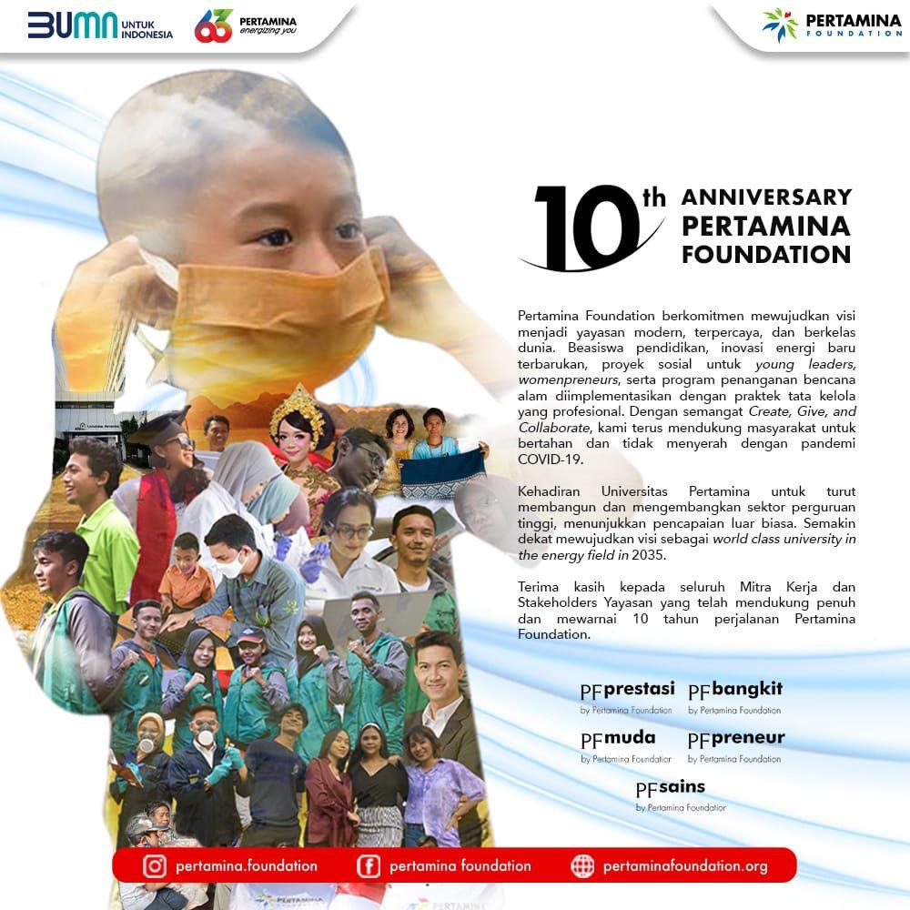 Photo of Satu Dasawarsa Pertamina Foundation Untuk Indonesia Lebih Baik