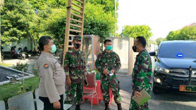Photo of Dandim Jepara Tinjau Lokasi Karantina Pasien Covid-19 Di Asrama Haji Donohudan.