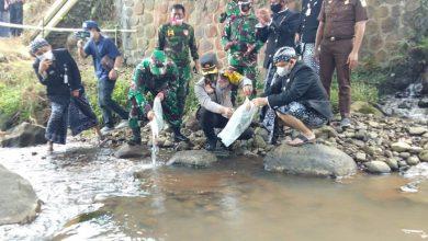 Photo of Pelepasan Benih Ikan oleh Komandan Kodim 0714/Salatiga Dalam Rangka TMMD Sengkuyung Tahab ll Tahun 2021