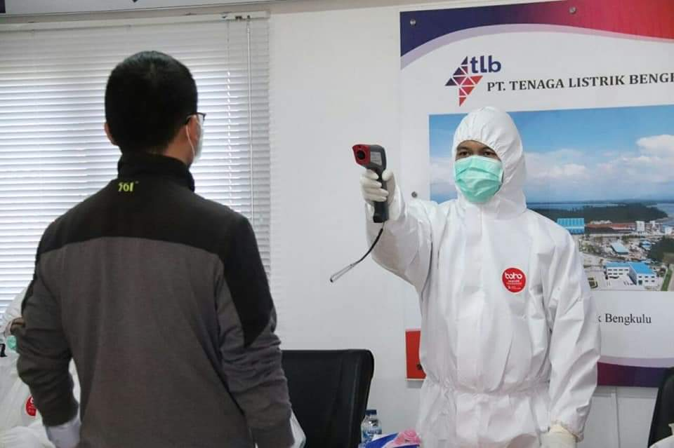 Photo of Dinkes Kota Bengkulu Periksa Kesehatan 350 TKA di PLTU