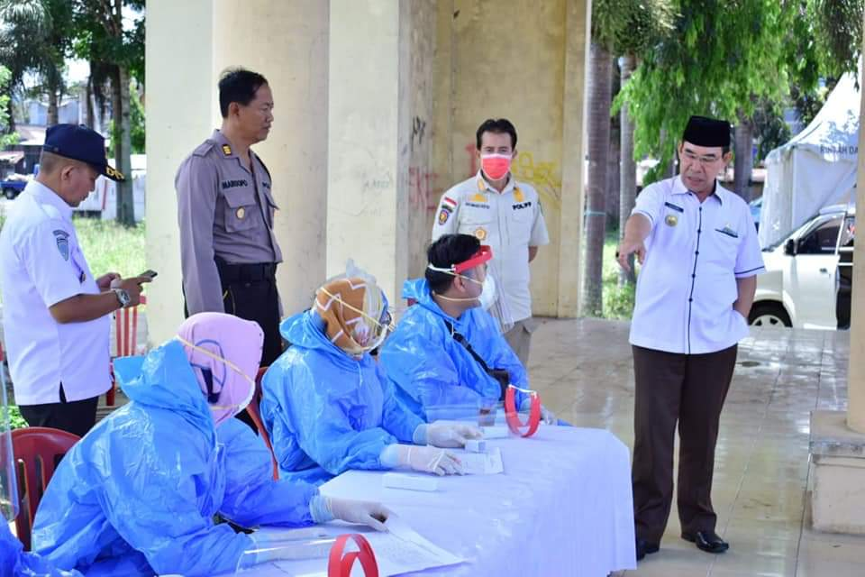 Photo of Bupati Hijazi Tinjau Posko Perbatasan Kabupaten Kepahiang