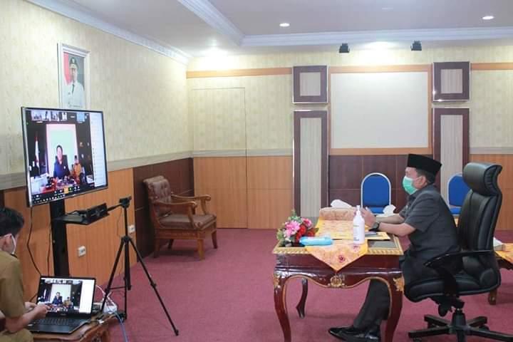 Photo of Virtual Meeting Rapat Paripurna DPRD Provinsi Bengkulu