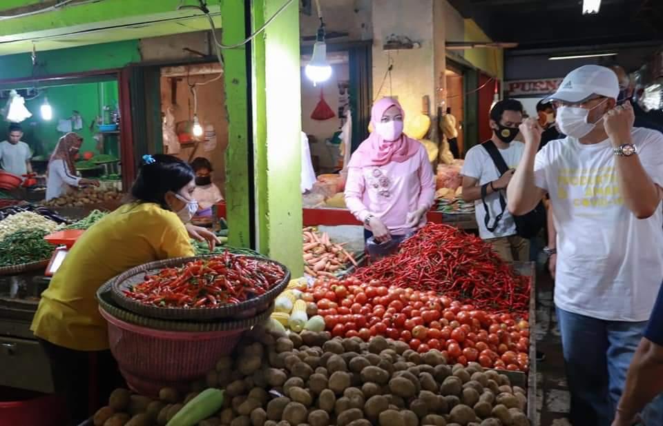 Photo of Pedagang Berharap, New Normal Segera Diterapkan