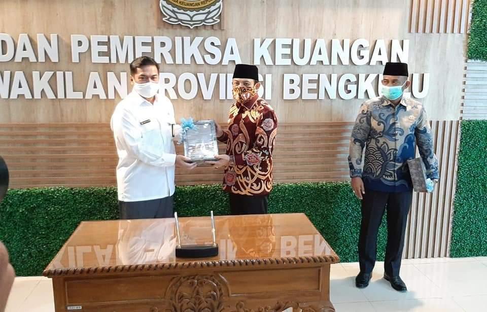 Photo of Prestasi Lagi, Pemkot Bengkulu Kembali dapat WTP dari BPK