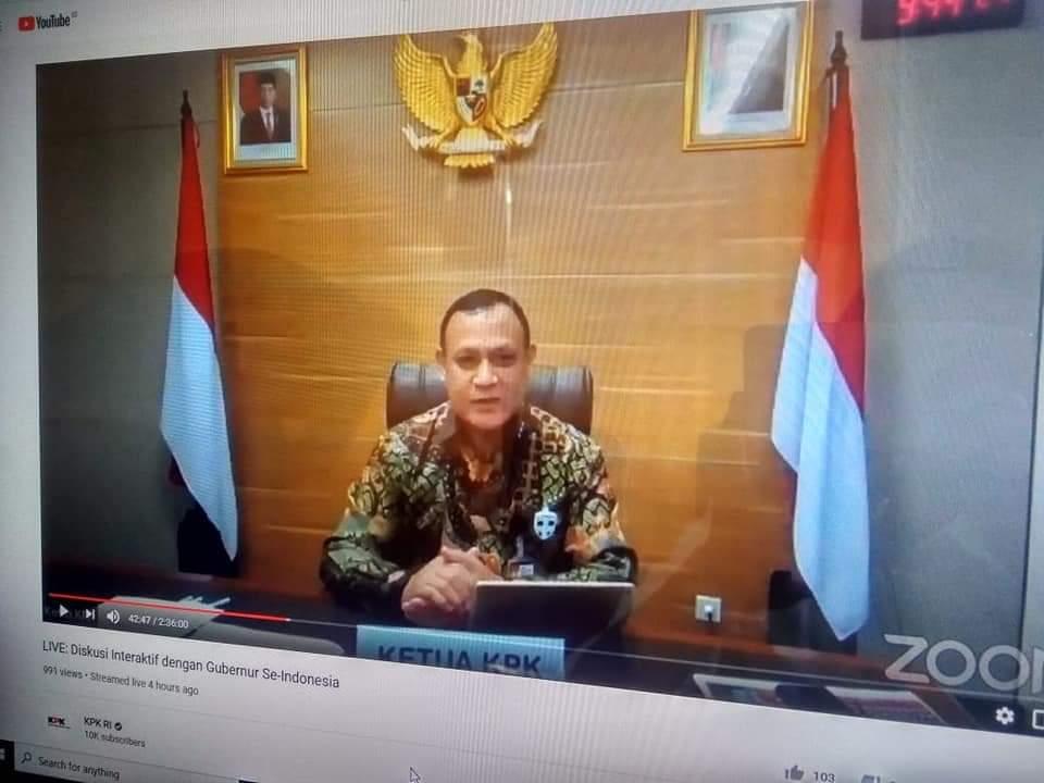 Photo of Pengendalian Korupsi Dalam Kedaruratan Pandemi Covid-19, Pemprov Siap Sinergi