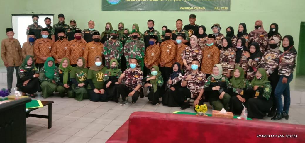 Photo of Pujud Sudarmanto,S.Sos. Kodim 0413/ Bangka Rangkul Keluarga Besar TNI