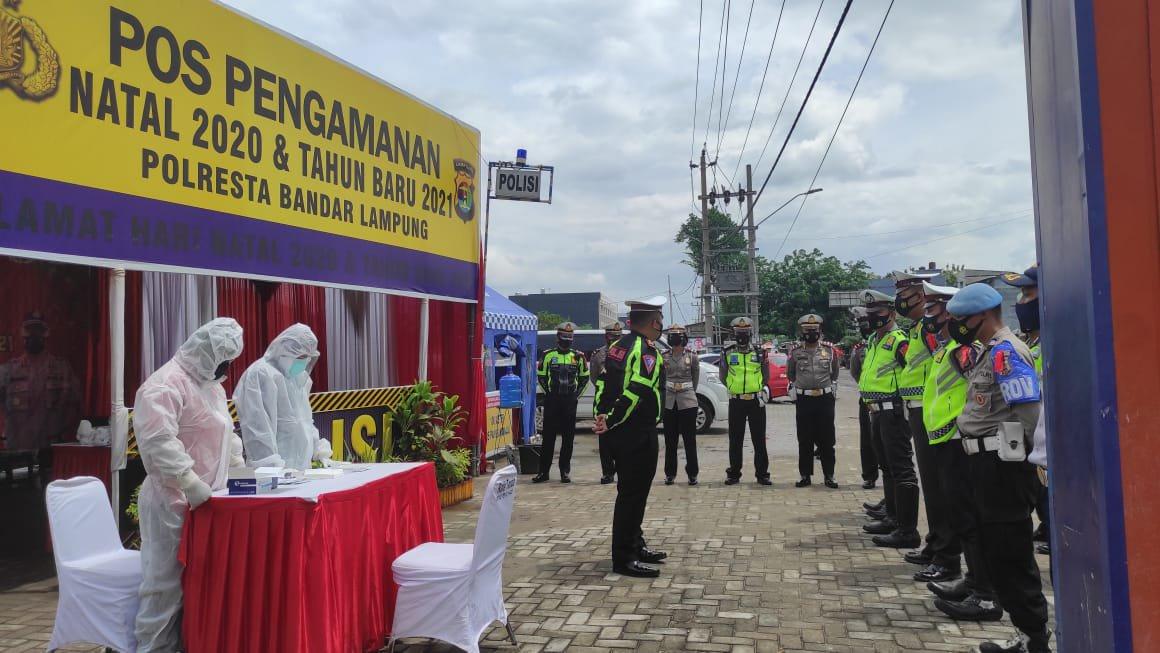 Photo of Terobosan dan Upaya Pencegahan Penyebaran Covid 19 Satlantas Bandar Lampung dalam Puncak Arus Libur Nataru 2021