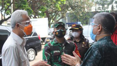 Photo of Dandim 0719/Jepara Dan Forkompimda Dampingi Kunker Gubernur Jawa Tengah
