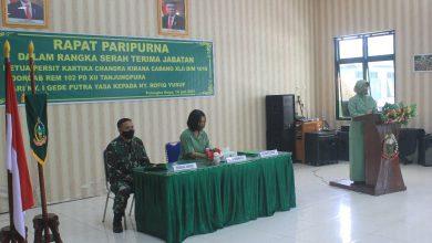 Photo of Persit KCK Cabang XLII Kodim Palangka Raya Gelar Rapat Paripurna Dalam Rangka Serah Terima Jabatan